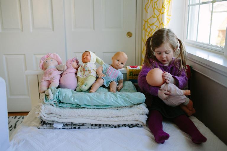 in home documentary family session conshohocken